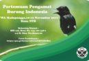 Pertemuan Pengamat Burung Indonesia VII
